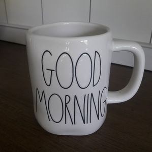Rae Dunn GOOD MORNING mug. 2019